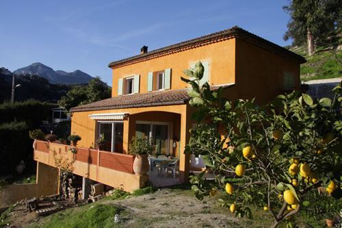 Chambre d\'hôte à Menton dans les Alpes Maritimes : Côte d\'Azur